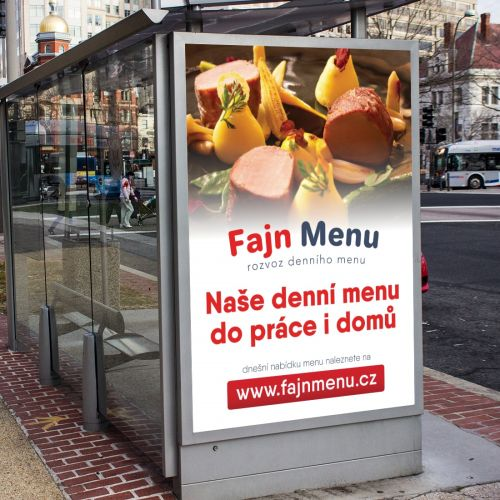 Výroba inzertních grafik pro propagaci rozvážkové služby v Ostravě