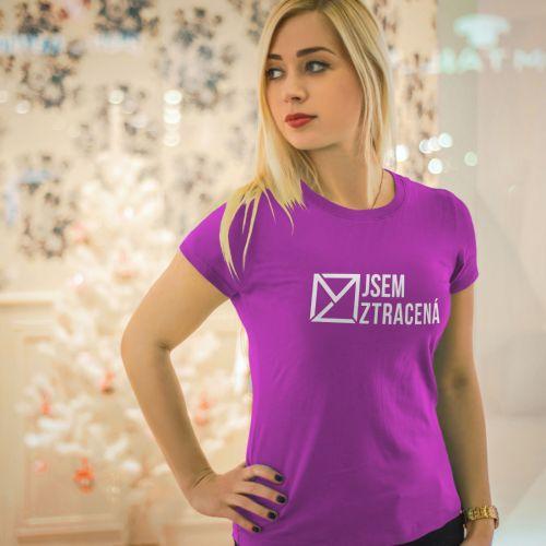Nový design triček pro Marka Ztraceného