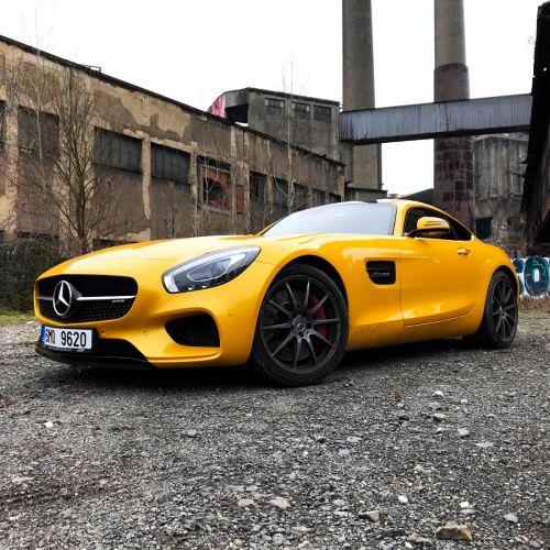 Prezentační fotografie klenotu Mercedes GTS AMG pro TestDrive