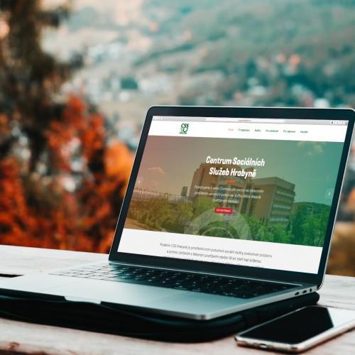 Vytvořili jsme nové prezentační webové stránky pro Centrum Sociálních Služeb v Hrabyni, které si přehledně zobrazíte na jakémkoli zařízení.