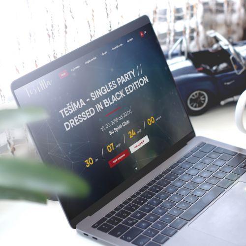 Seznamovací projekt Teší Ma má nové webové stránky s vlastní administrací